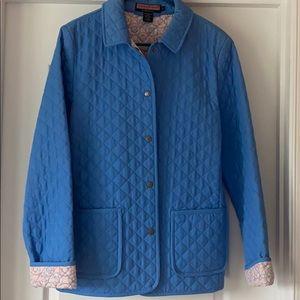 Vineyard Vines Women's Coat Blue Large